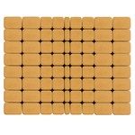 Тротуарная плитка Классико, Медовый (60 мм) 57x115, 115x115, 172x115 ''BRAER''