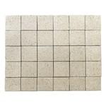Тротуарная плитка Лувр, Мрамор (60 мм) 200x200 ''BRAER''