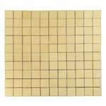 Тротуарная плитка Лувр, Песочный (60 мм) 100x100