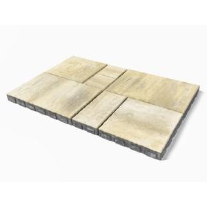Тротуарная плитка «Патио» Песчаник, h=60 мм