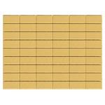 Тротуарная плитка Прямоугольник, Песочный (60 мм) 200x100 ''BRAER''