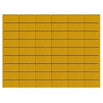 Тротуарная плитка Прямоугольник, Желтый (60 мм) 200x100 ''BRAER''