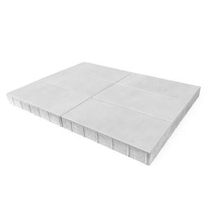"""Тротуарная плитка Сити, белый, h=80 мм """"BRAER"""""""