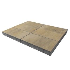 """Тротуарная плитка Сити, """"Песчанник"""" (80 мм) 600x300 ''BRAER''"""