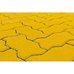 Тротуарная плитка Волна, Желтый (60 мм) 240x135 ''BRAER''